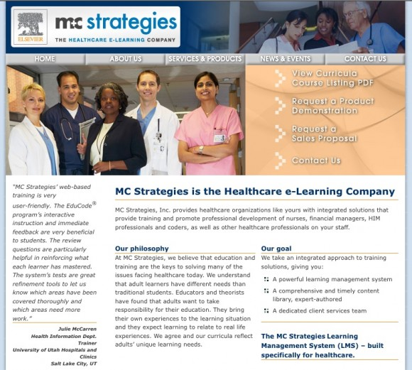 healthcare education medical LMS