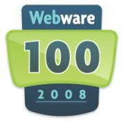 webware 100 logo