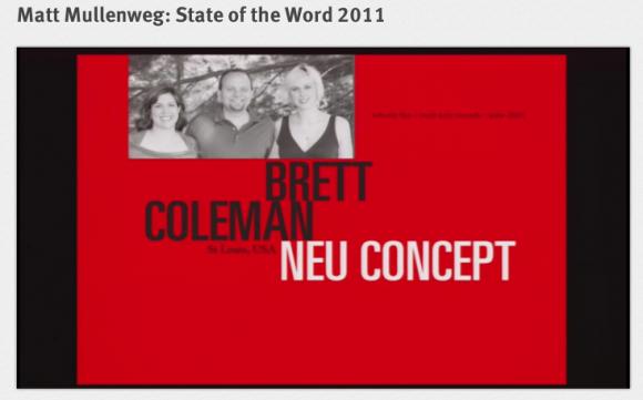 NeuConcept featured in Matt Mullenweg's State of the Word speech