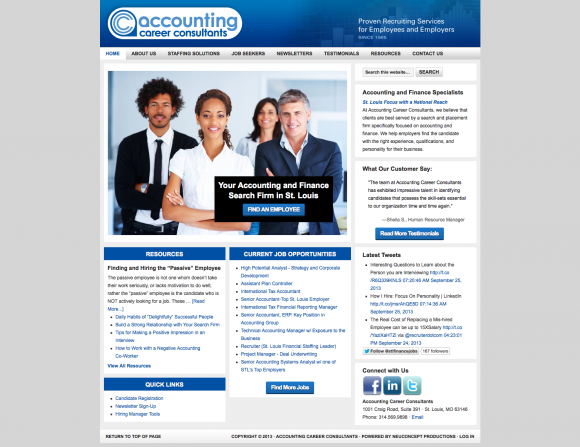 Accounting career consultants