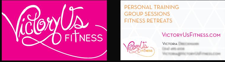 Victoryus Business Card Design