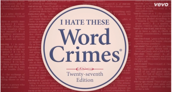 Word Crimes Weird Al Grammar