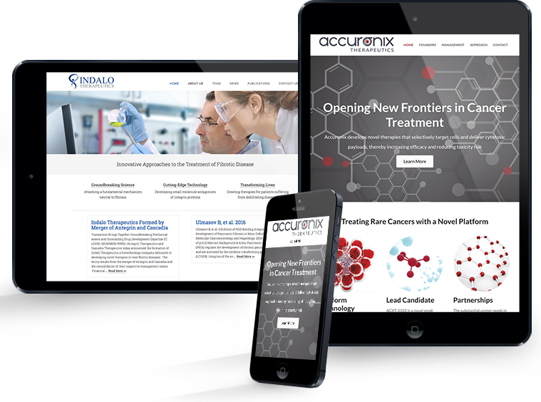 BioGenerator Websites - Indalo + Accuronix