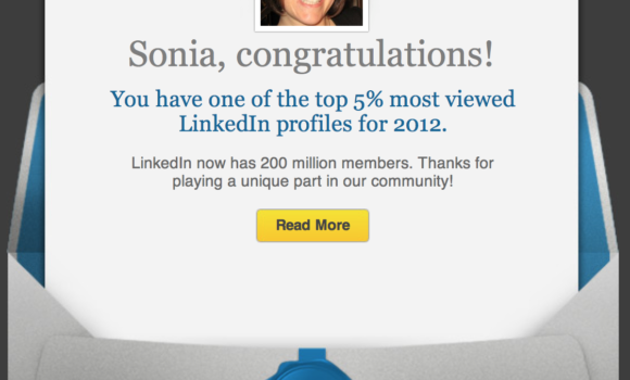 Linkedin Top 5 Most Viewed