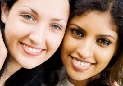 Smiling-orthodontist-girls
