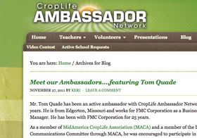 Ambassador Website