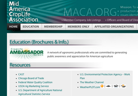 MACA Website