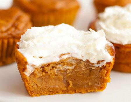 pumpkin pie mini