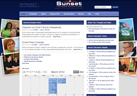 Sunset Intranet